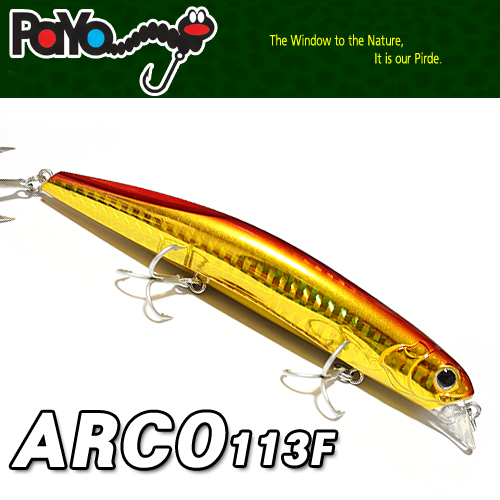 ARCO 113mm, 15.6g, Floating