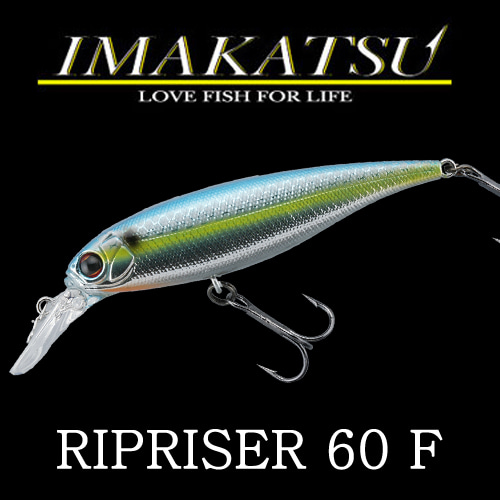 IMAKATSU RIPRISER 60 60mm, 4.4g, Floating